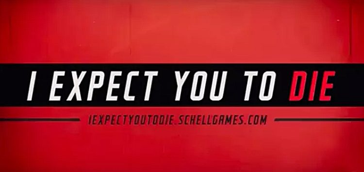 Im Test: I EXPECT YOU TO DIE [VR]